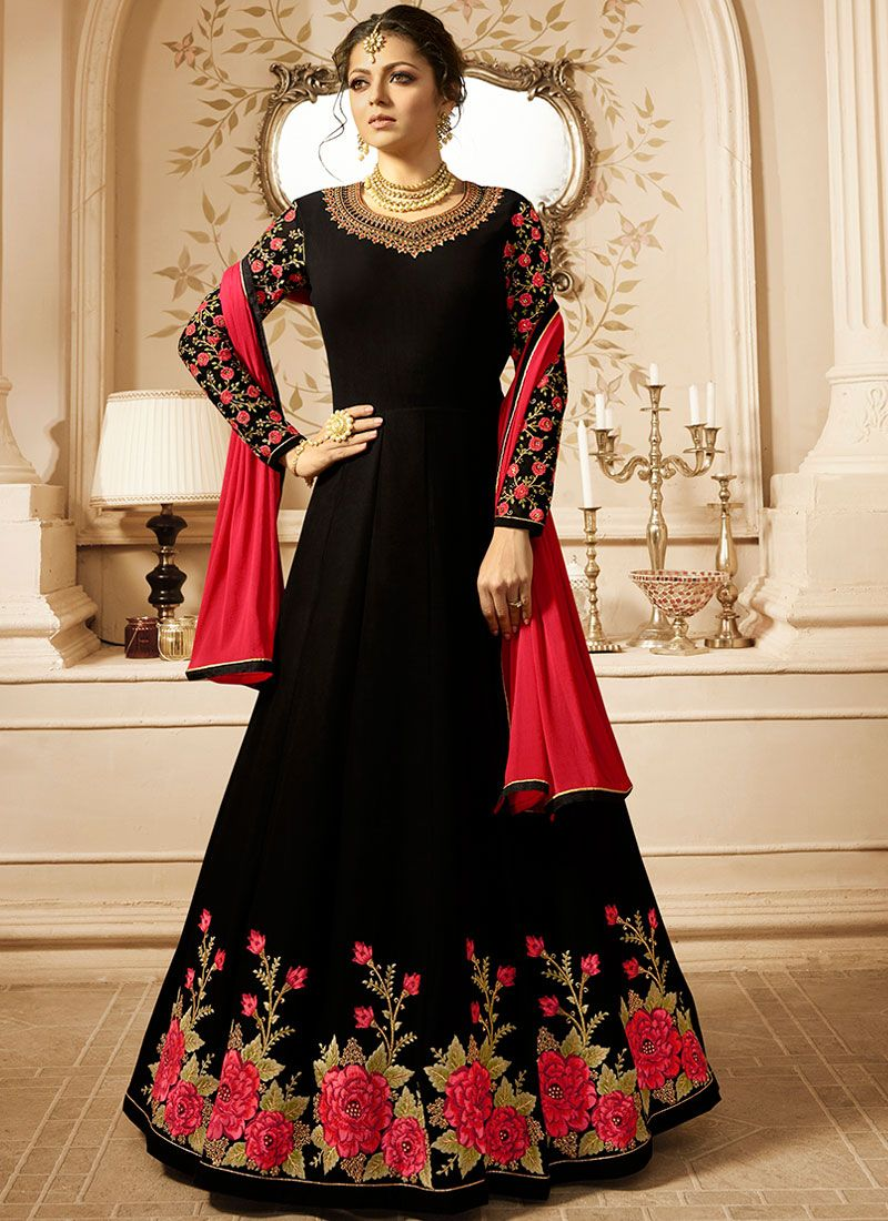 Drashti Dhami Floor Length Anarkali Suit For Party