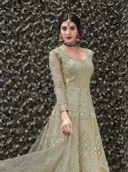 Embroidered Anarkali Salwar Kameez