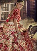 Embroidered Art Silk Lehenga Choli