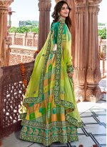 Embroidered Banarasi Silk Designer Lehenga Choli