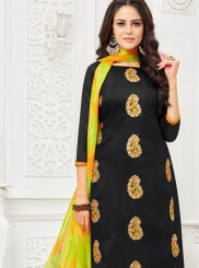 Embroidered Black Salwar Kameez