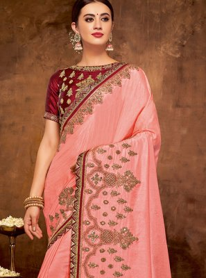 Embroidered Bridal Classic Designer Saree