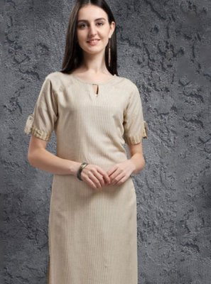 Embroidered Casual Kurti