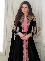 Embroidered Ceremonial Floor Length Anarkali Suit