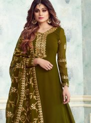 Embroidered Designer Salwar Suit