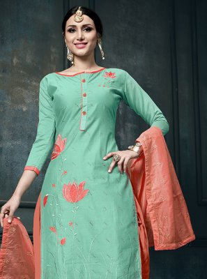 Embroidered Designer Suit