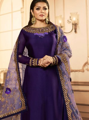 Embroidered Drashti Dhami Faux Georgette Lehenga Choli