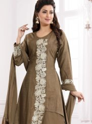 Embroidered Fancy Fabric Readymade Suit