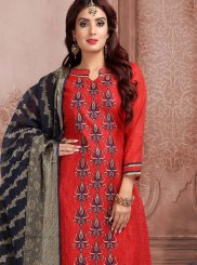 Embroidered Festival Churidar Designer Suit