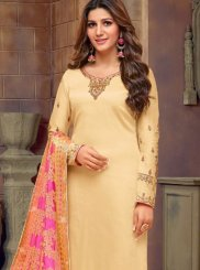 Embroidered Festival Churidar Salwar Suit