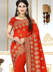 Embroidered Festival Classic Designer Saree