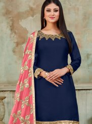 Embroidered Festival Designer Patiala Suit
