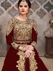 Embroidered Festival Floor Length Anarkali Suit