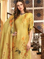 Embroidered Festival Palazzo Salwar Kameez