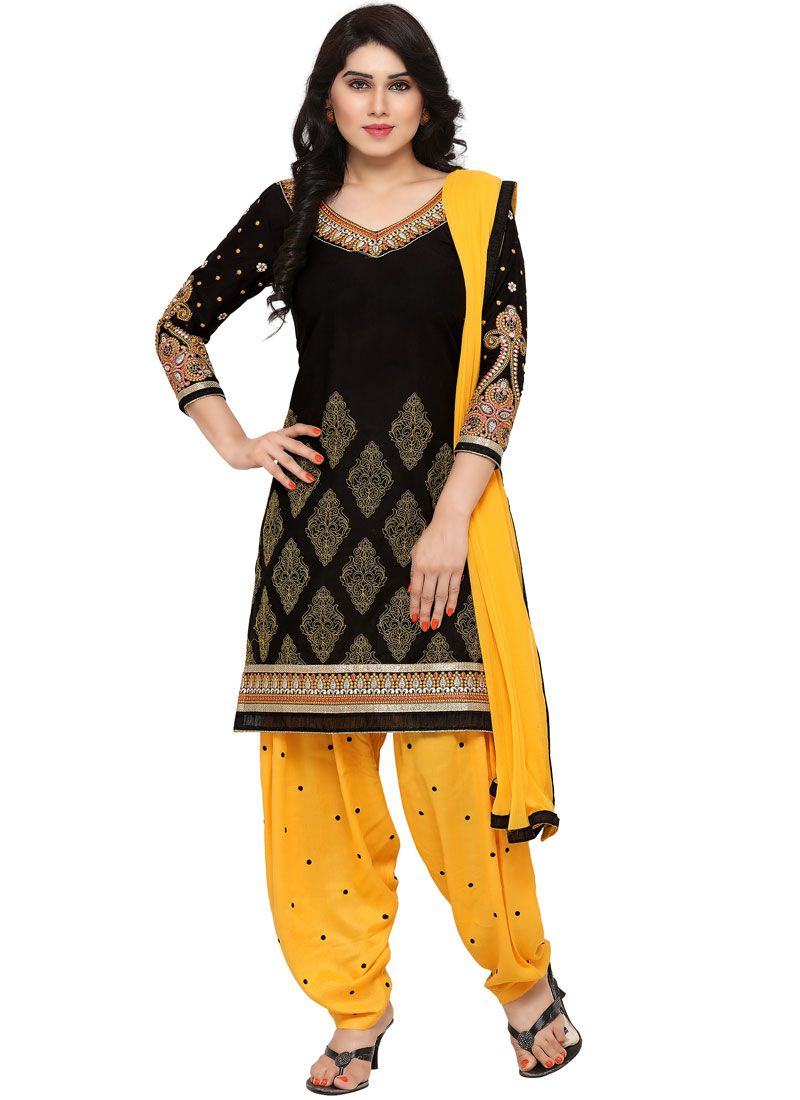 Embroidered Festival Punjabi Suit