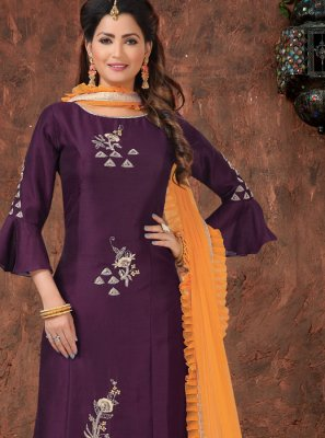 Embroidered Festival Readymade Suit