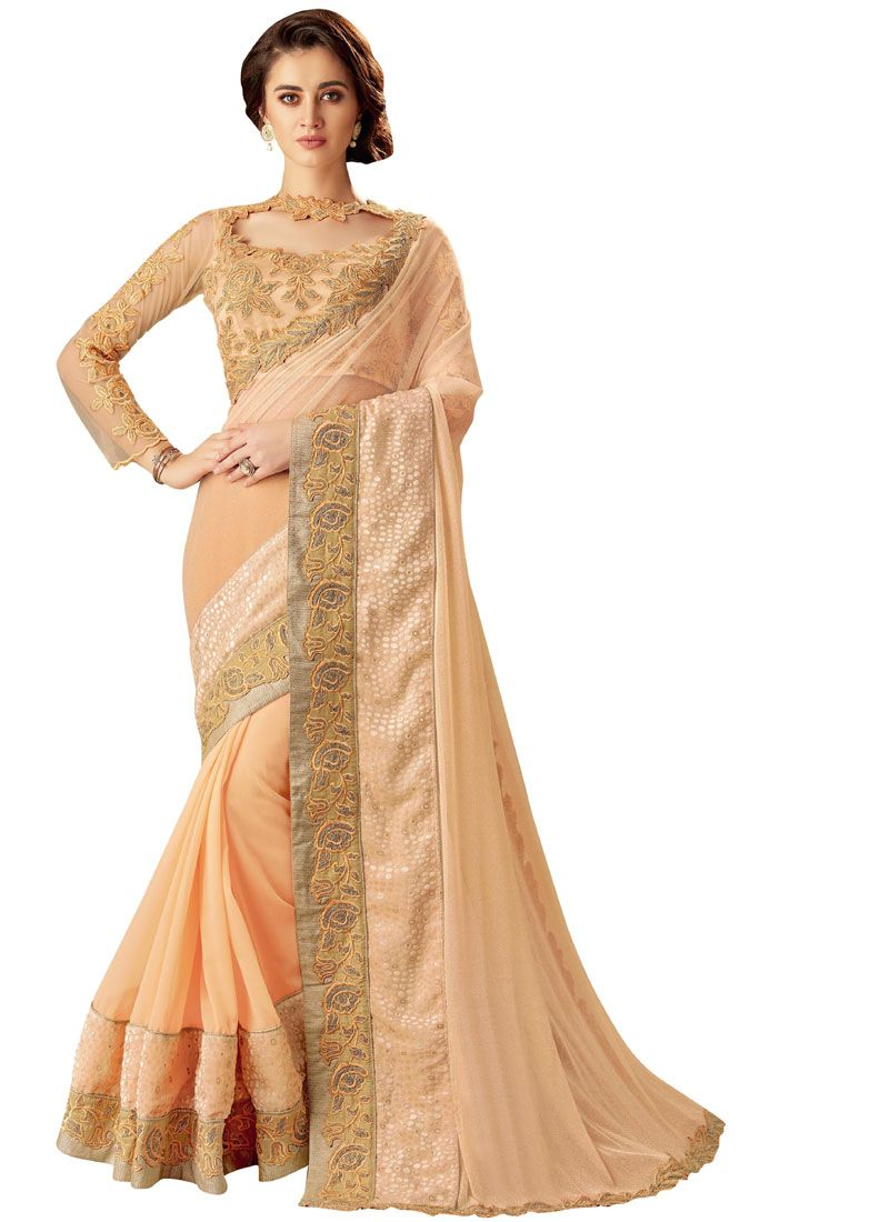 Embroidered Festival Trendy Saree