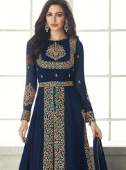 Embroidered Georgette Designer Salwar Kameez