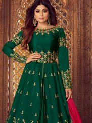 Embroidered Mehndi Designer Lehenga Choli