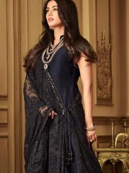 Embroidered Net Designer Salwar Kameez