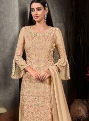 Embroidered Palazzo Designer Salwar Suit