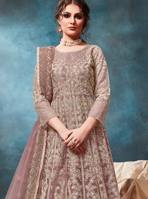 Embroidered Party Anarkali Salwar Suit