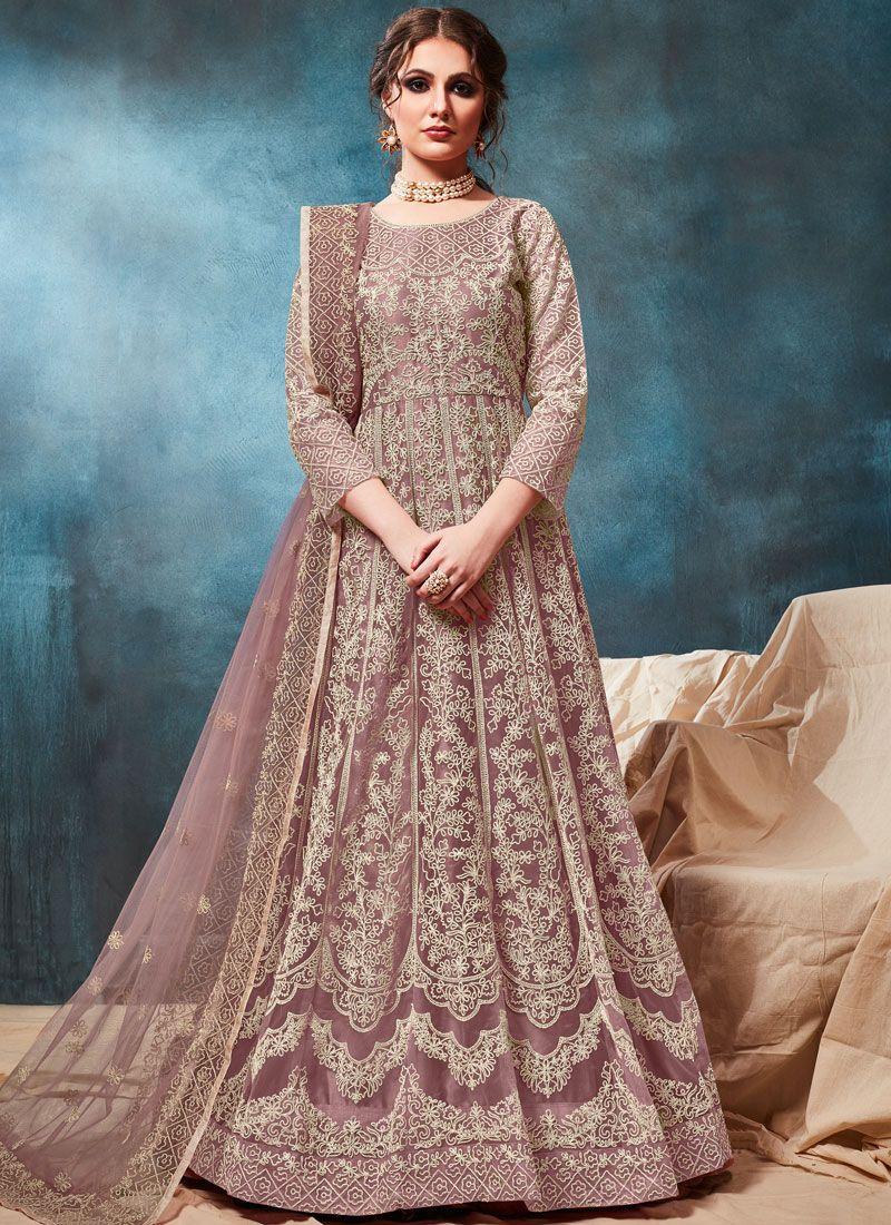 Embroidered Party Anarkali Salwar Suit