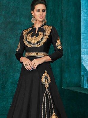 Embroidered Party Trendy Anarkali Salwar Suit