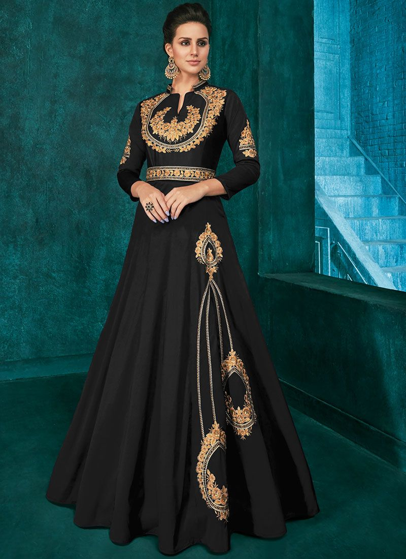 Embroidered Party Trendy Anarkali Salwar Suit