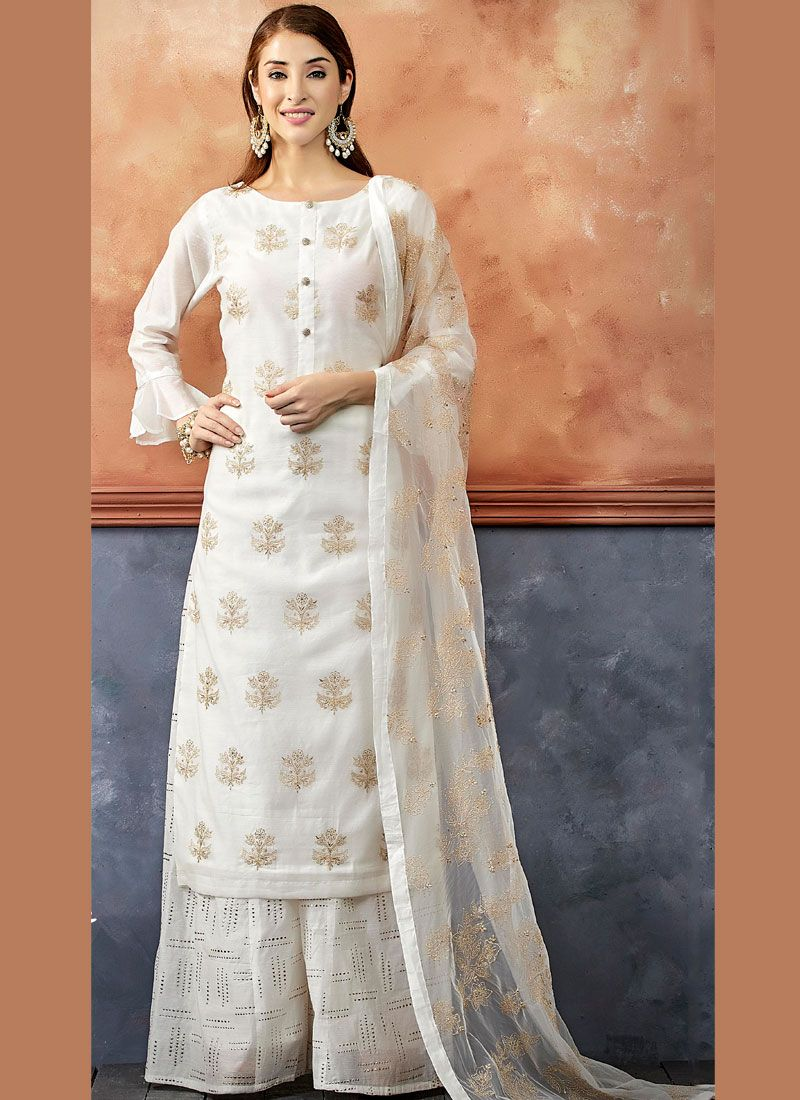 Embroidered Readymade Suit