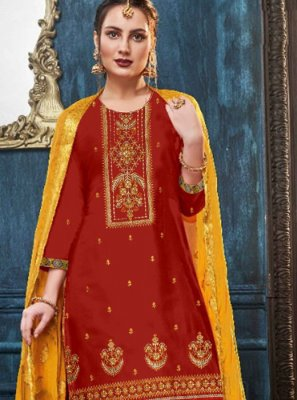Embroidered Reception Designer Patiala Suit