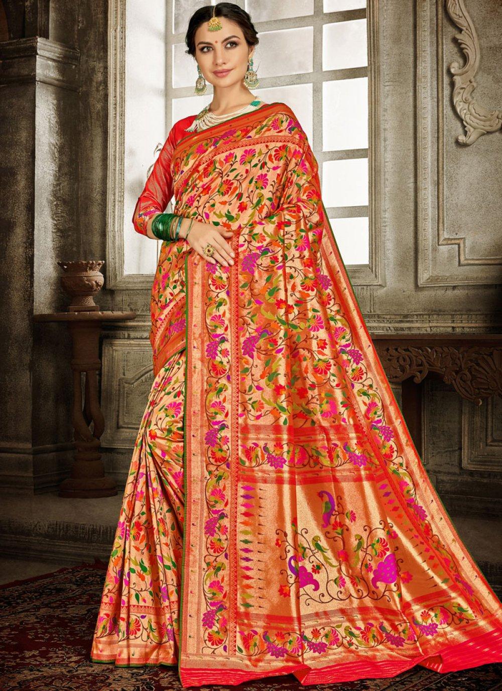 Embroidered Reception Designer Traditional Saree