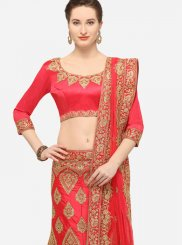 Embroidered Rose Pink Designer Lehenga Choli