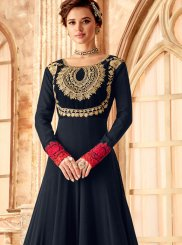 Embroidered Sangeet Anarkali Salwar Kameez
