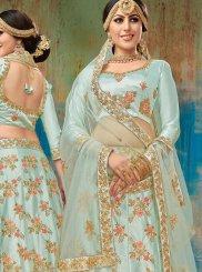 Embroidered Satin Silk Trendy Lehenga Choli