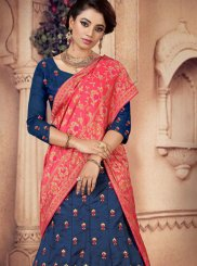 Embroidered Silk Designer Lehenga Choli