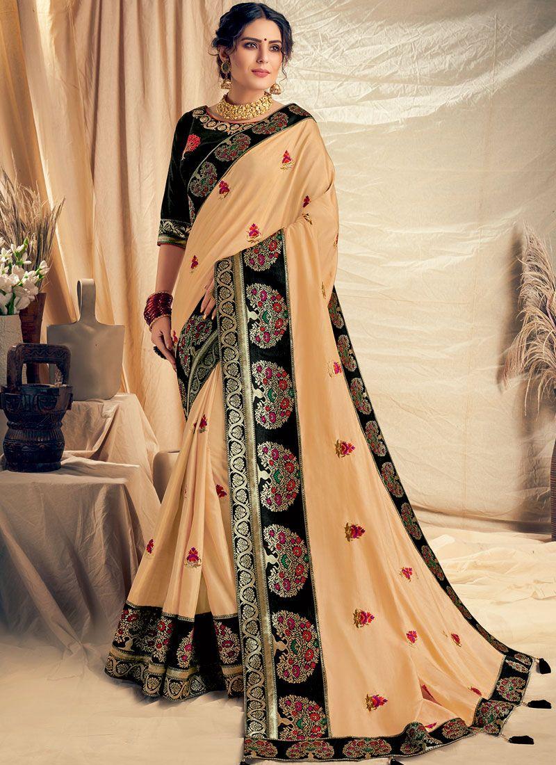 Embroidered Traditional Designer Saree