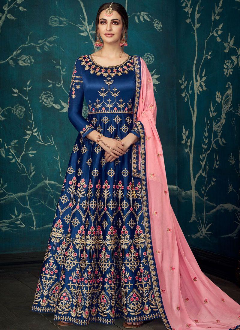 Embroidered Trendy Anarkali Salwar Kameez