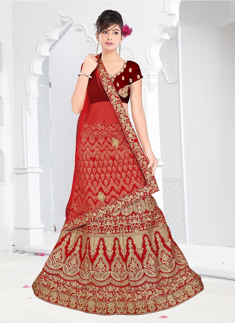 Embroidered Trendy Designer Lehenga Choli