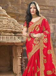 Embroidered Wedding Classic Saree