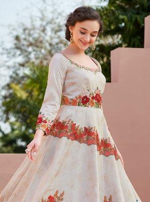Embroidered Wedding Designer Gown