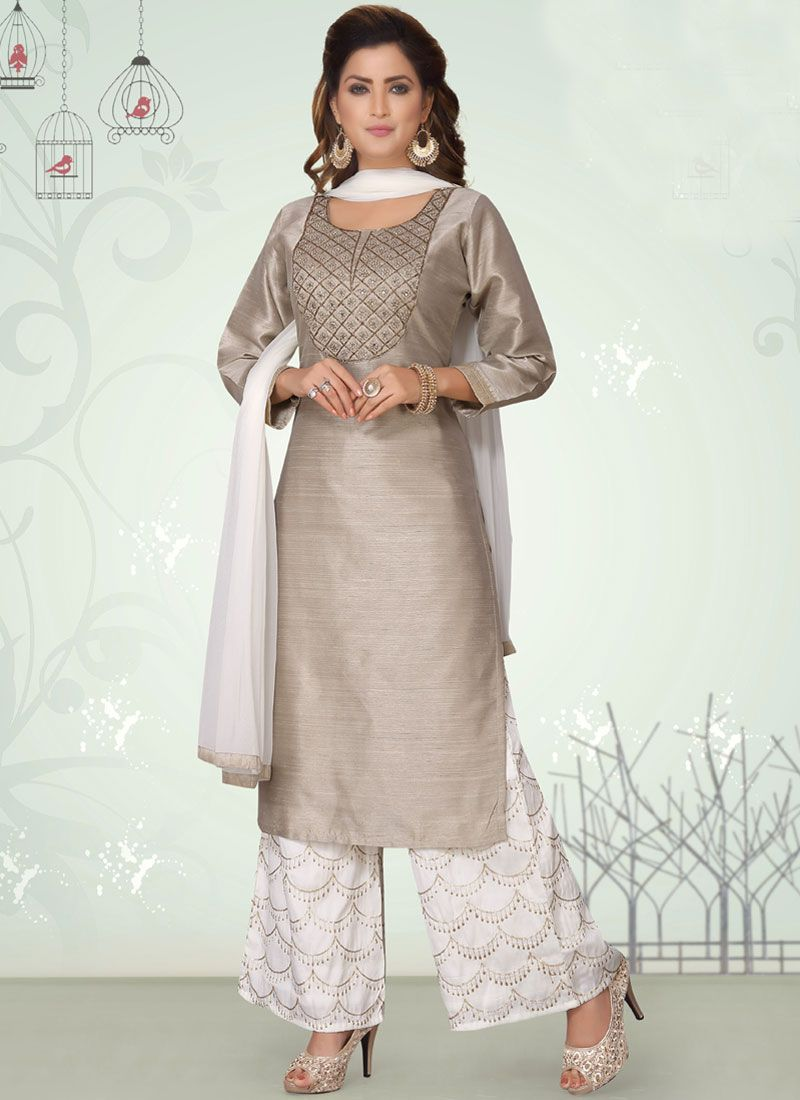 Embroidered Wedding Readymade Suit