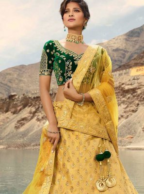 Embroidered Wedding Trendy Lehenga Choli