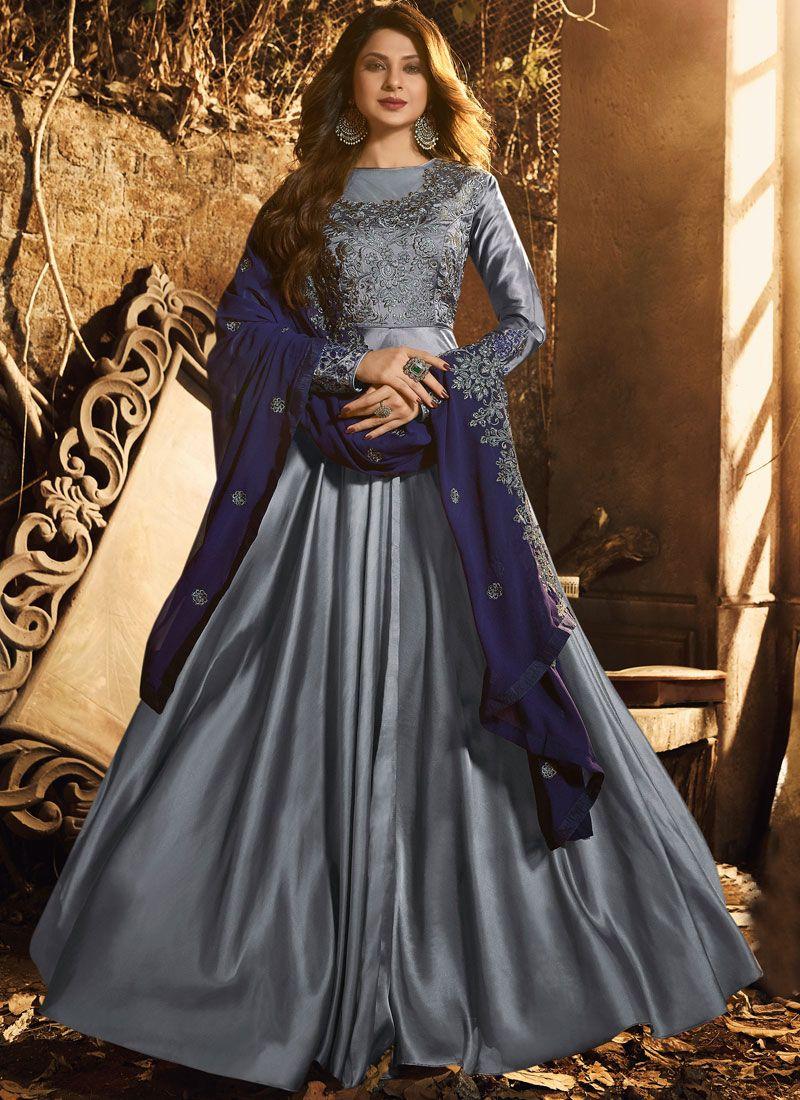 Embroidery Wedding Anarkali Suit