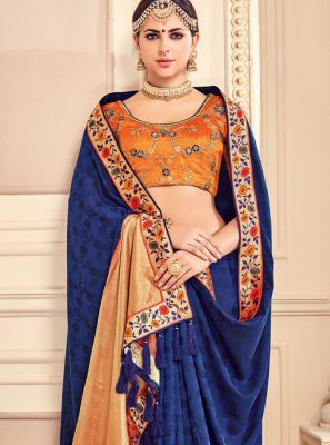 Fancy Fabric Classic Saree