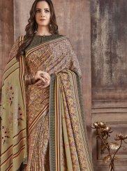 Fancy Fabric Festival Casual Saree