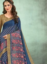 Fancy Fabric Festival Casual Saree