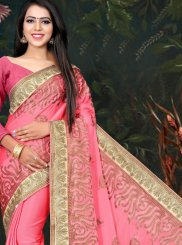 Fancy Fabric Festival Traditional Designer Saree