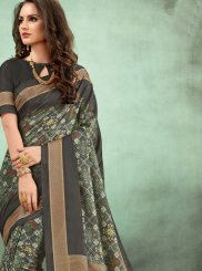 Fancy Fabric Multi Colour Casual Saree