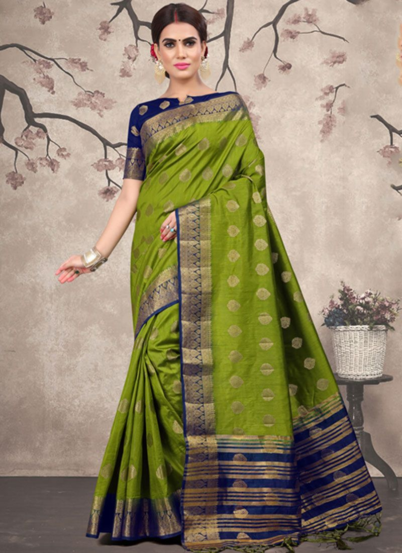 Fancy Fabric Party Classic Designer Saree
